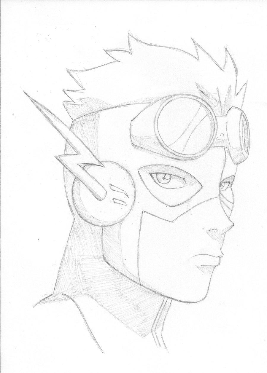 900x1258 Young Justice Kid Flash Byiarisawa12