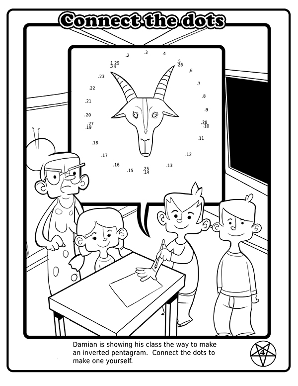 600x776 The Children Of Satan Now Have Their Own Coloring Book