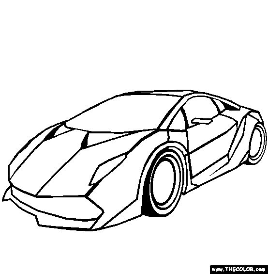 Kid Drawing Car
