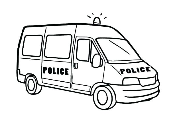 600x448 Police Cars Coloring Pages Police Cars Coloring Pages For Kid Car