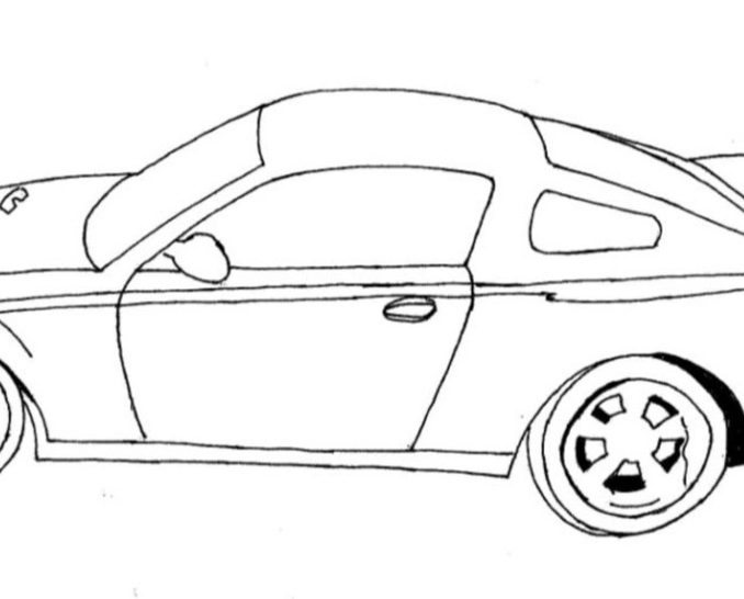 678x546 Coloring Cars For Kids Coloring Page