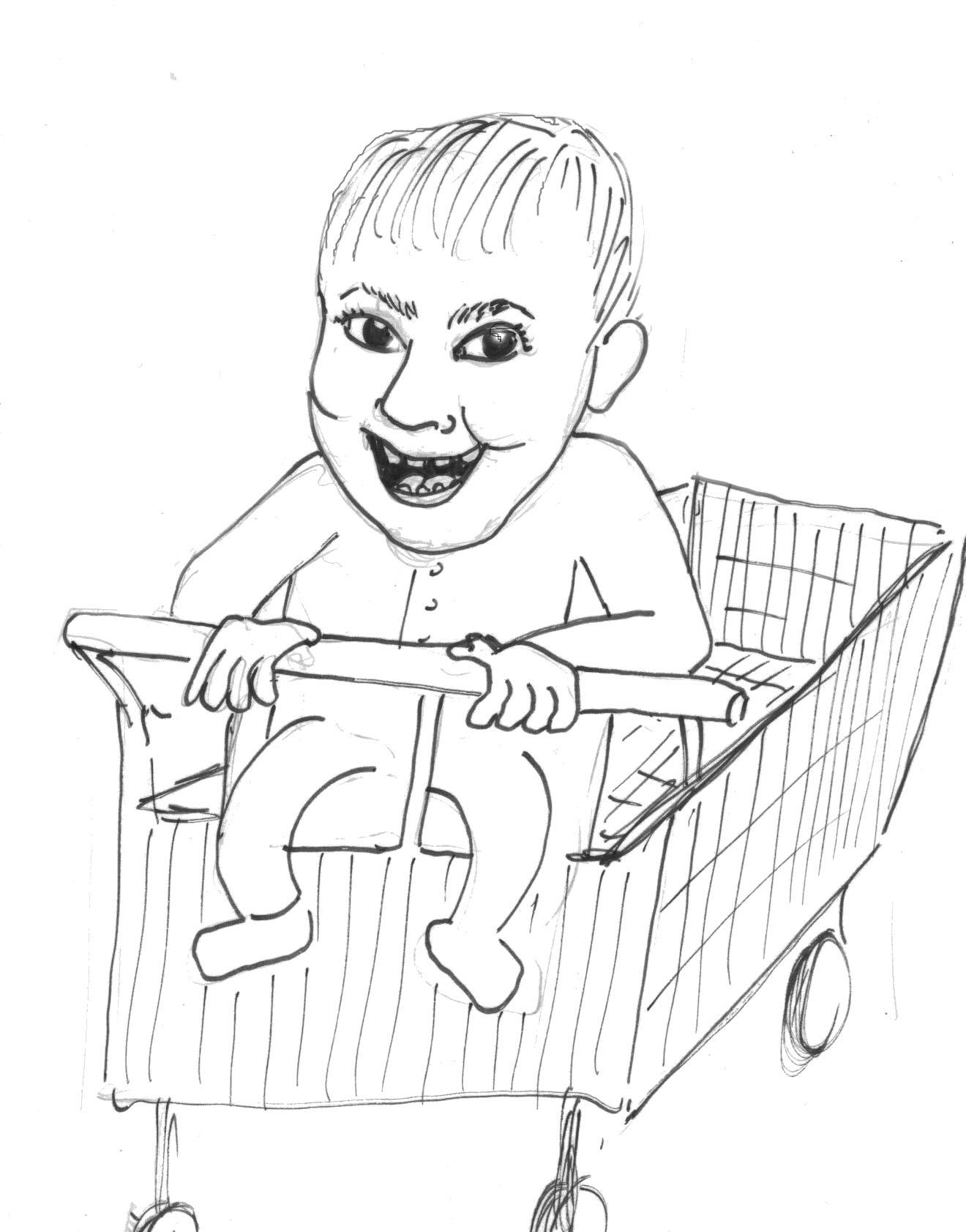 1320x1683 Cartoon Art Hey, Thats My Baby