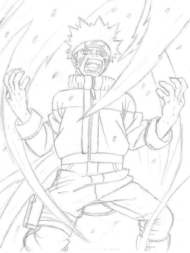 612x814 Naruto Four Tails Drawing Drinkeats.club
