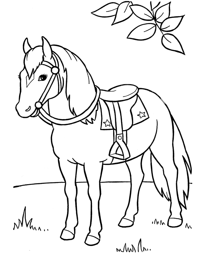 670x820 Top 48 Free Printable Horse Coloring Pages Online