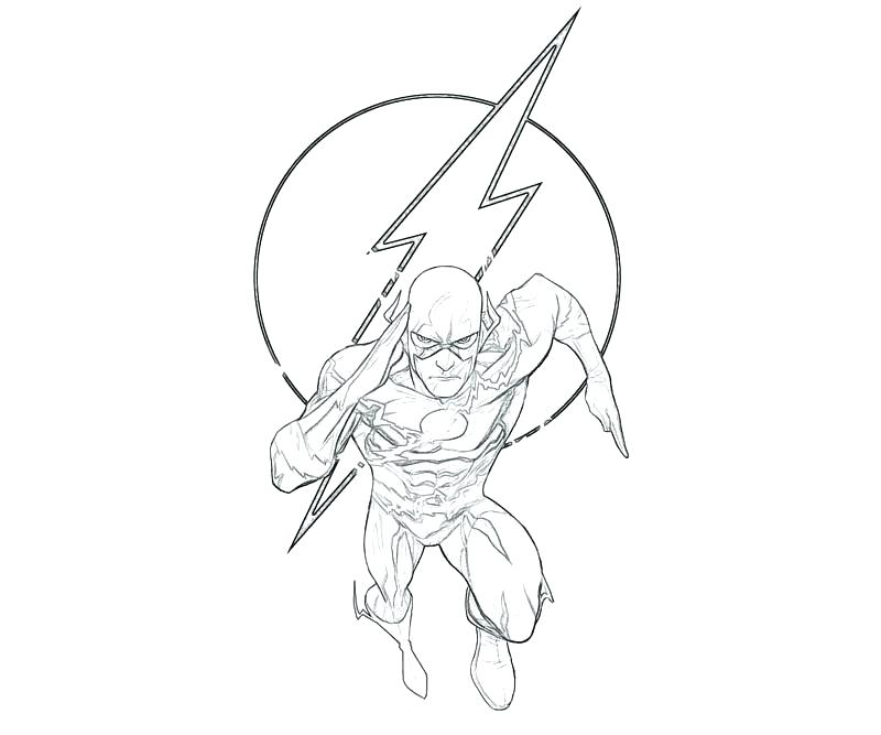 800x667 Kid Flash Coloring Sheet And 139