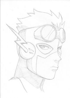 236x330 Kid Flash By Jeageractive Sketch Book Ideas Kid