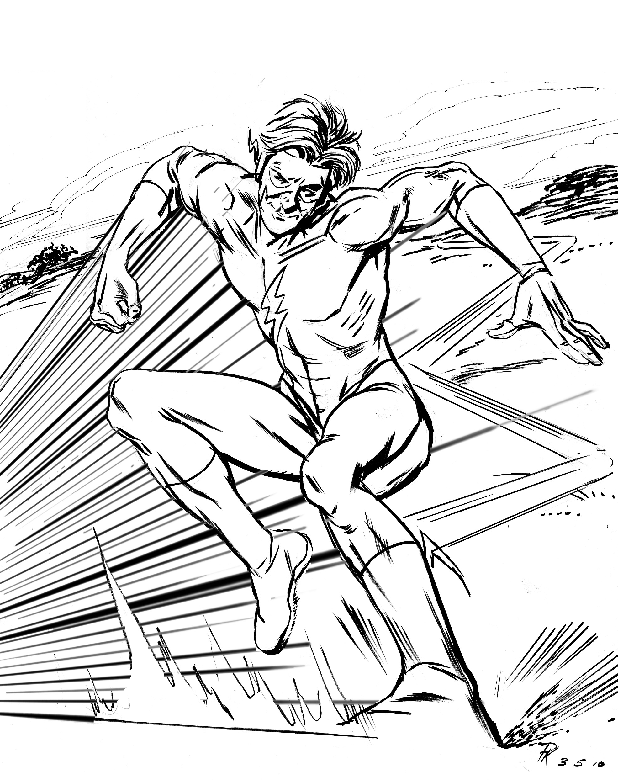 1971x2487 Blog Is Back! Sketch Of The Day Flash I Still Love My