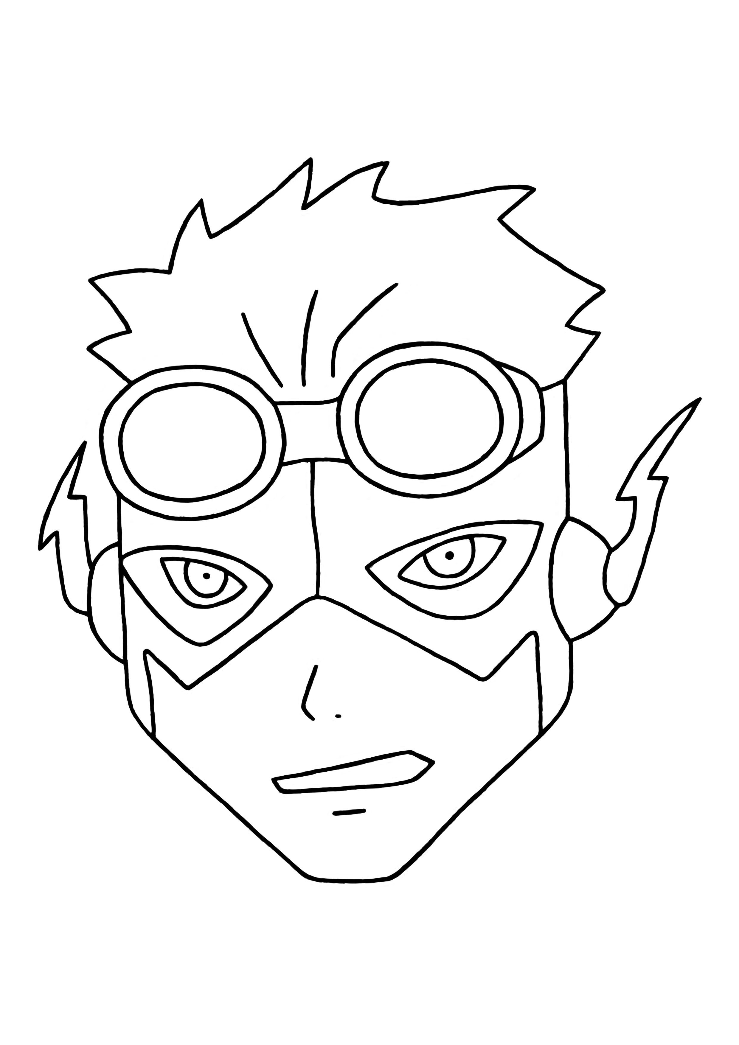 2480x3508 Kid Flash! (Young Justice Style) Crystal Chaos