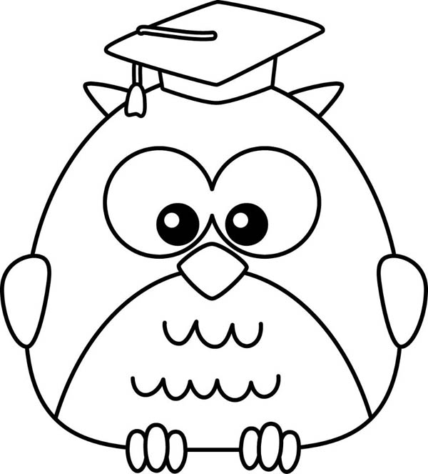 Kid Owl Drawing at GetDrawings.com | Free for personal use Kid Owl ...