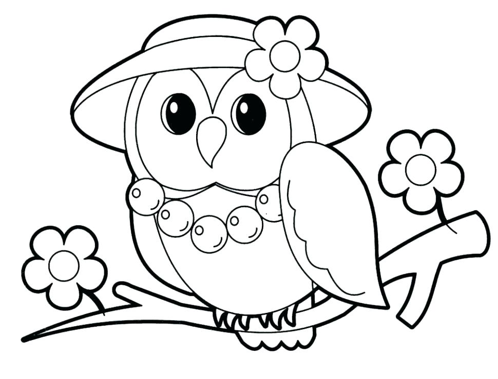 970x739 Coloring Page Owl Baby Owl Coloring Page Owl Coloring Pages