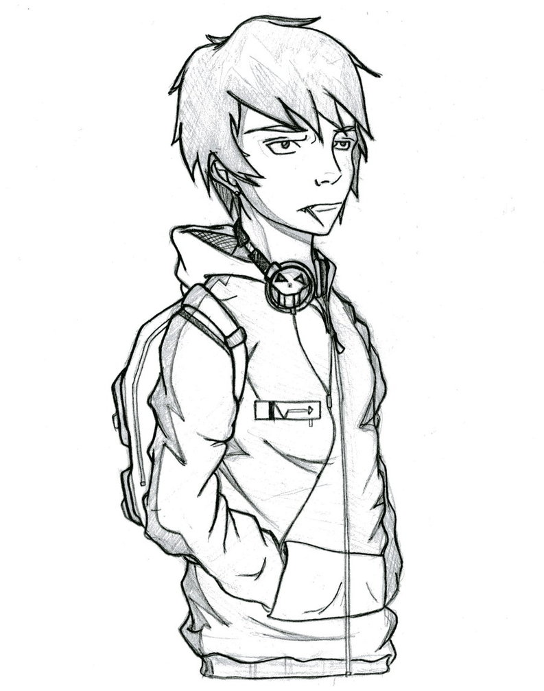 793x1007 Cool Kid By Bournelach