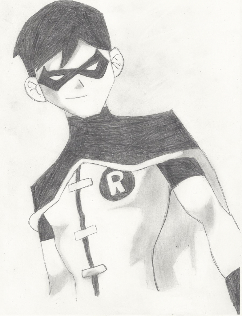 786x1024 How To Draw A Krish Pencil Drawing For Kid Easy Superhero Drawings