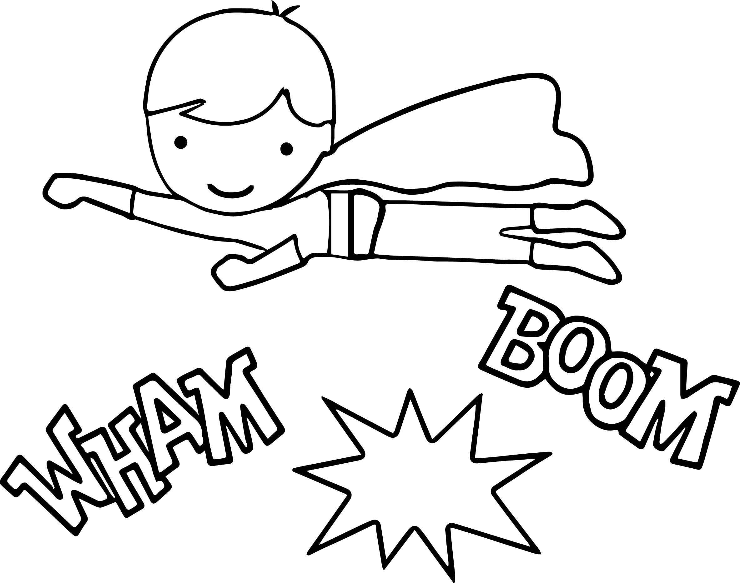 Kid Superhero Drawing at GetDrawings.com | Free for personal use Kid ...