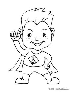 236x304 Superhero Activities Free Color Your Hearts Out