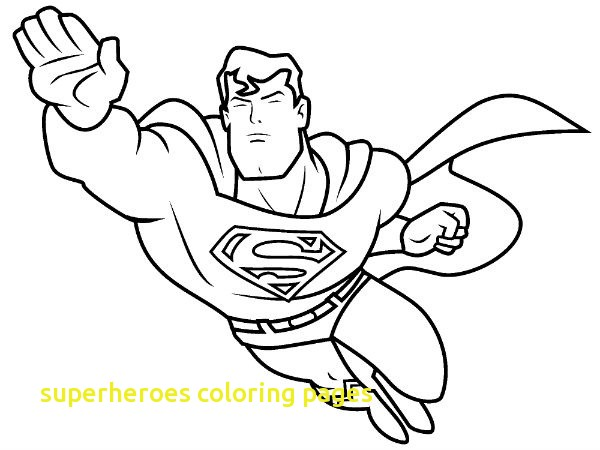 600x450 Superheroes Coloring Pages With Superhero Coloring Pages Kids