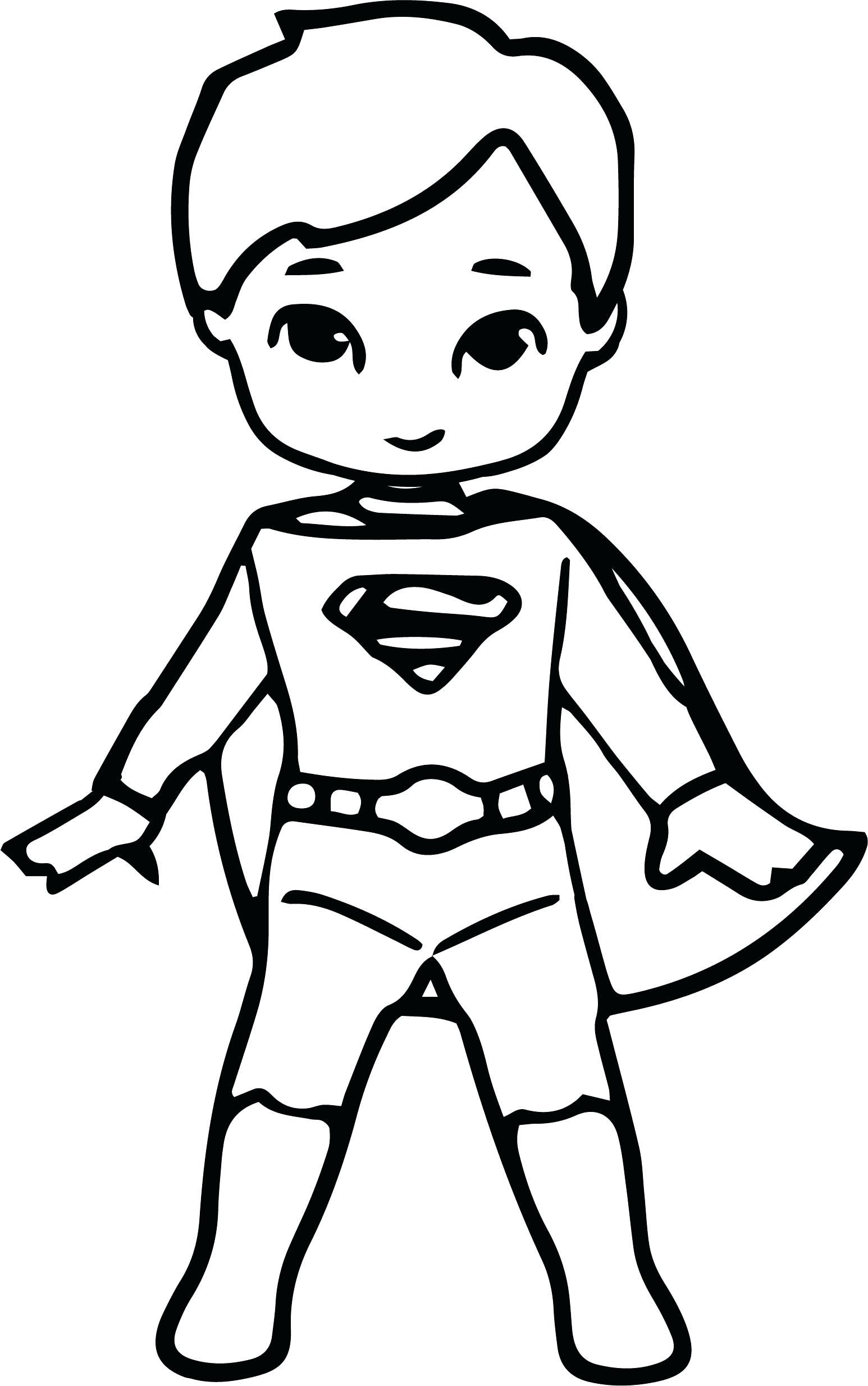 Kid Superhero Drawing at GetDrawings   Free download
