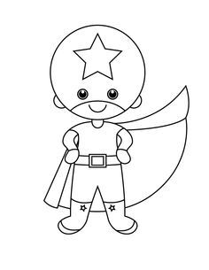 236x305 How To Draw A Superhero For Kids