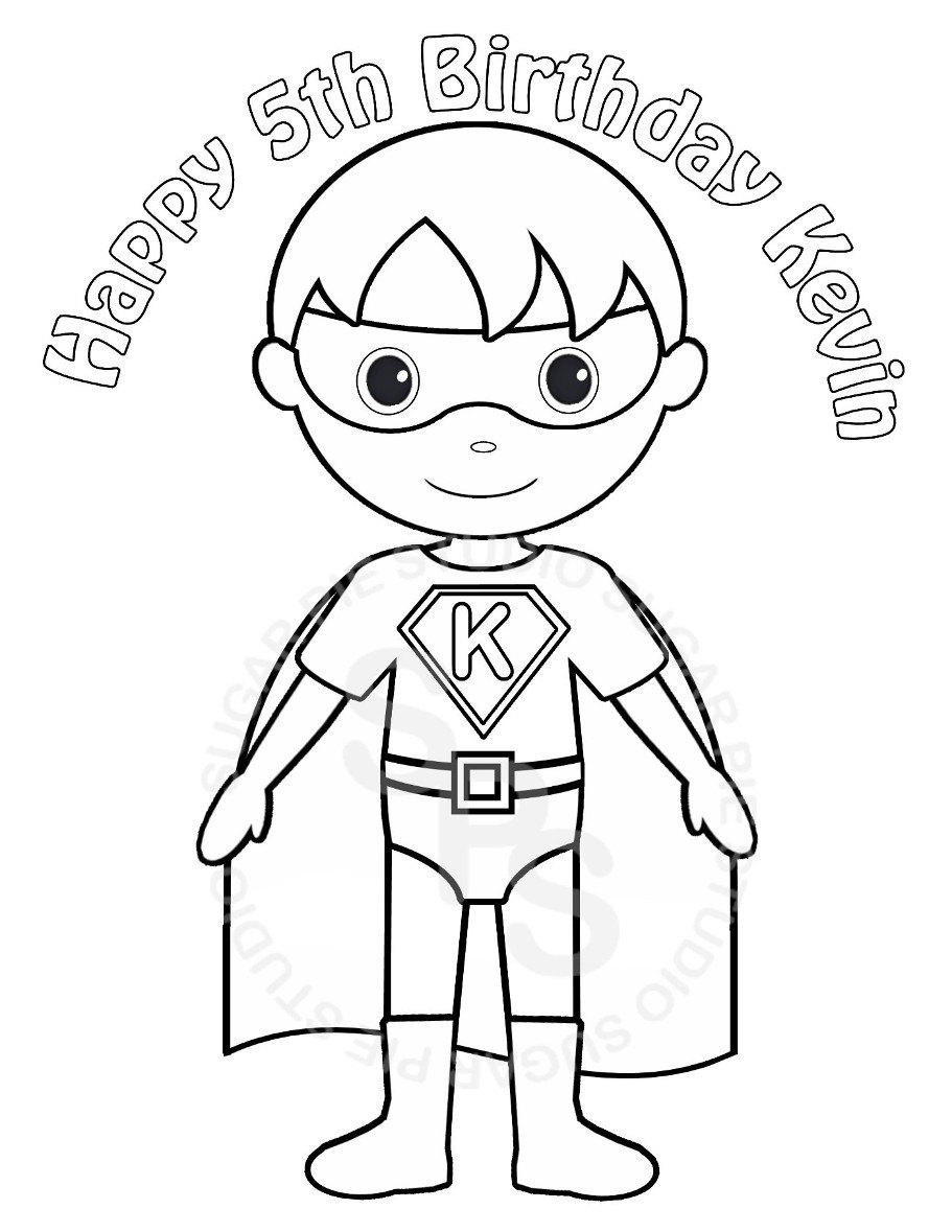 Kid Superhero Drawing at GetDrawings.com | Free for personal use Kid ...