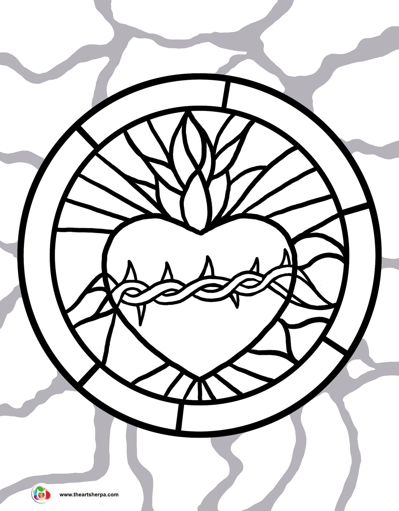 1650x2112 Nature Rainbow Tree Coloring Page For Kids Lovely Sacred Heart