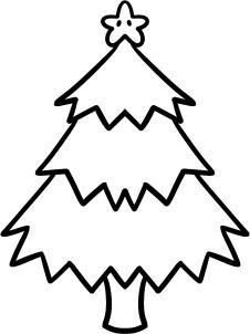 226x302 How To Draw A Christmas Tree For Kids Step 6 Ella Mac