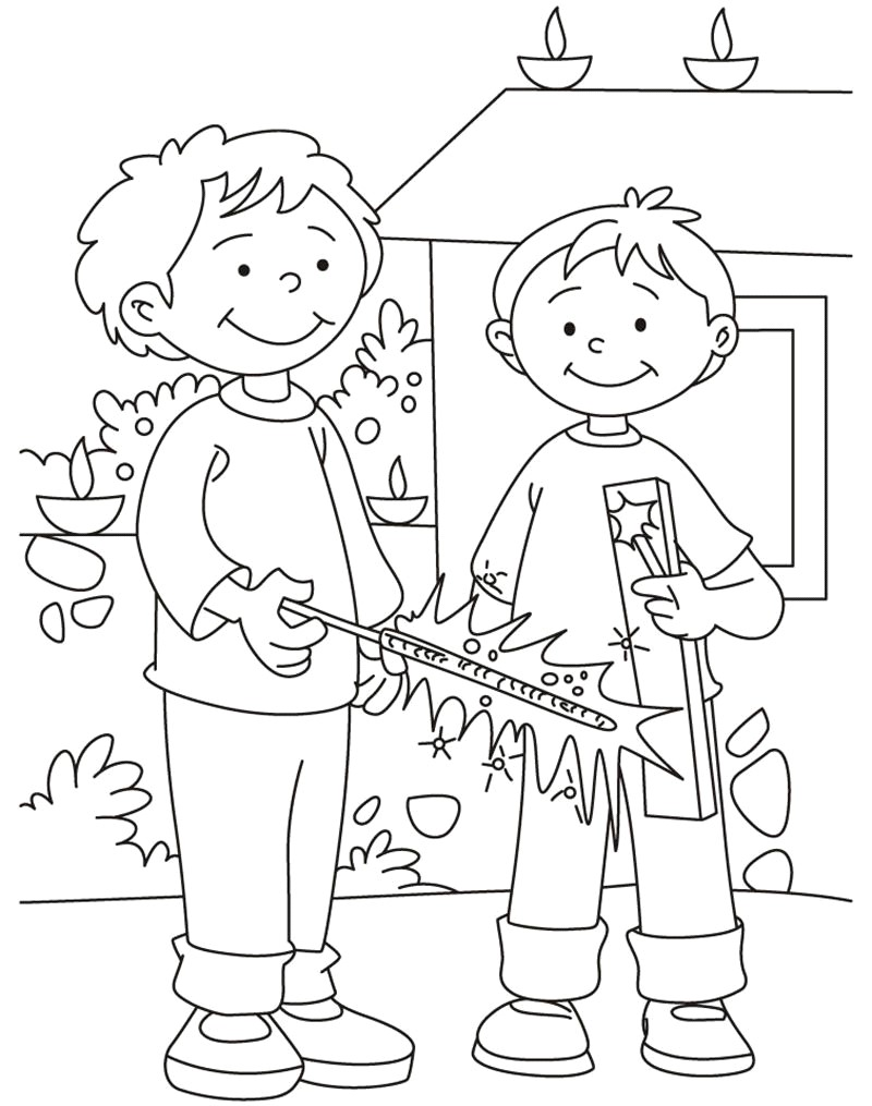 800x1015 Diwali Paintings, Scene, Drawing Pictures, Sketch For Kids Happy