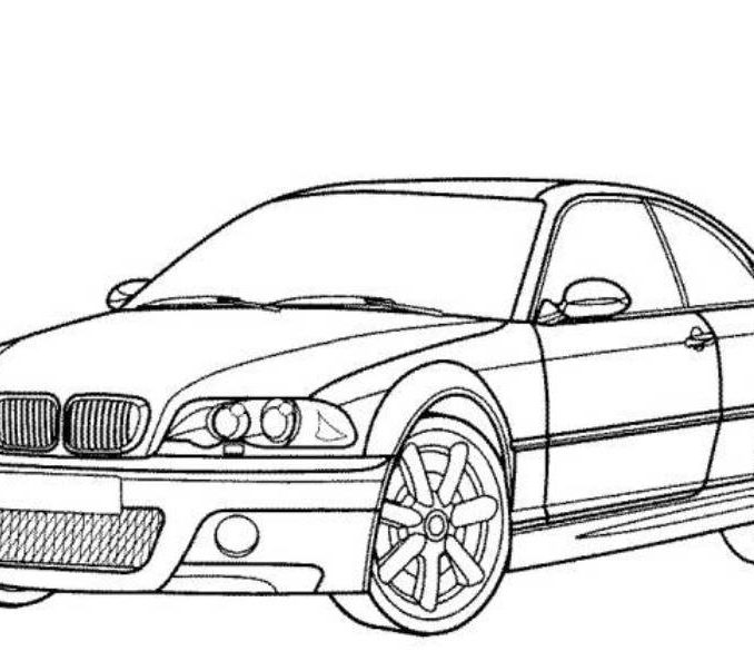 678x585 Printable Car Pictures Car Pictures To Color Printable Coloring