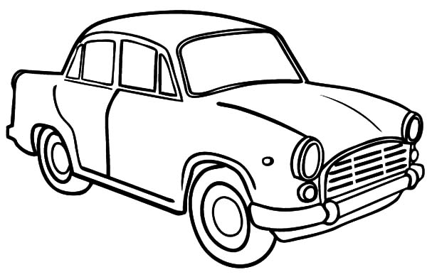 600x390 Car Coloring Sheets For Kids Color Bros