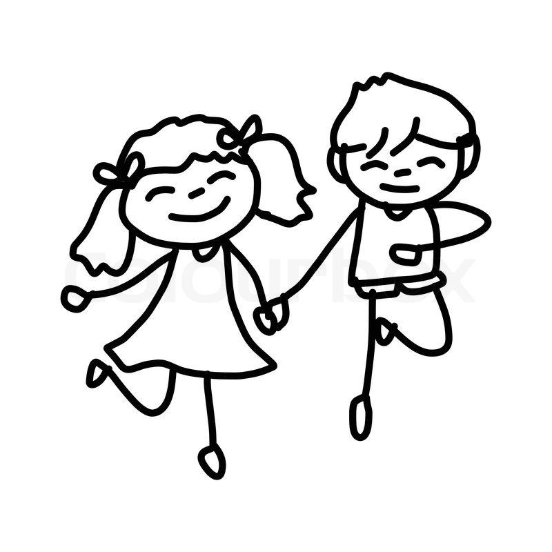 Kids Cartoon Drawing at GetDrawings.com | Free for ...