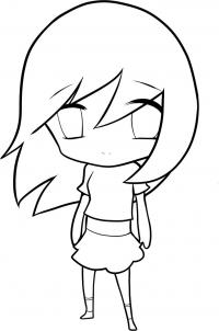 200x302 Pictures Easy Anime Drawings For Kids,