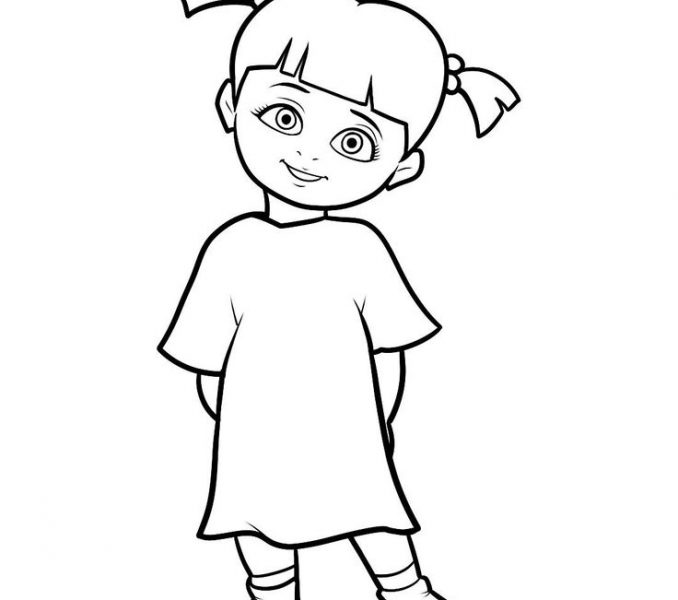678x600 Cartoon Characters Pictures To Draw Kids Coloring Page