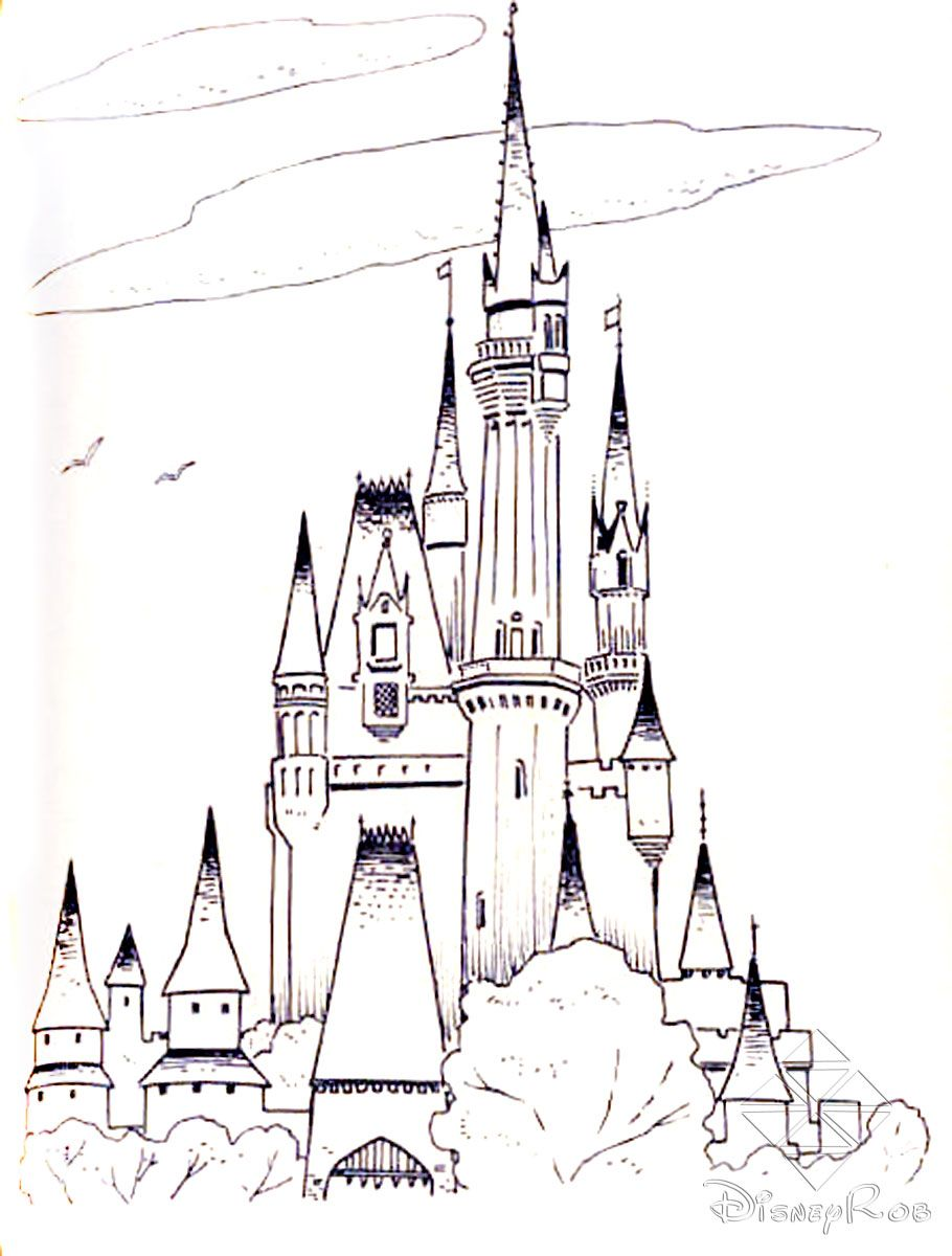 Kids Castle Drawing at GetDrawings.com | Free for personal use Kids ...