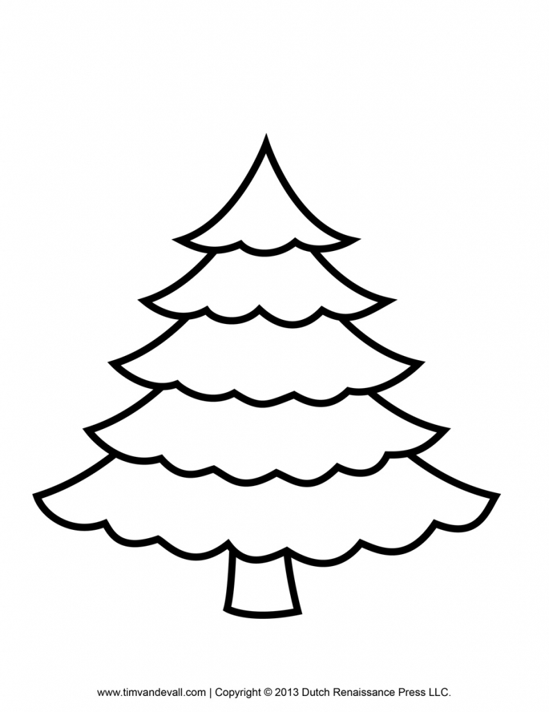 791x1024 Drawing Of Christmas Trees Christmas Tree Drawing Ideas For Kids