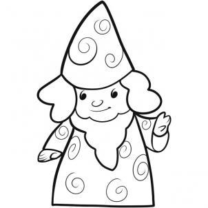 302x302 How To Draw A Wizard Kids, Step By Step, Fantasy Kids,