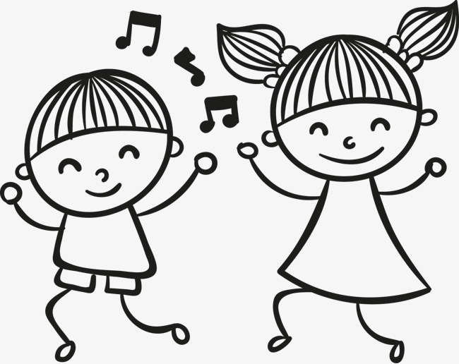 650x516 Dancing Kids, Dancing, Children, Hand Painted Png Image For Free