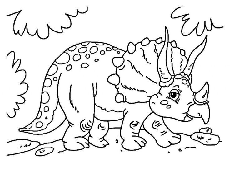 Kids Dinosaur Drawing