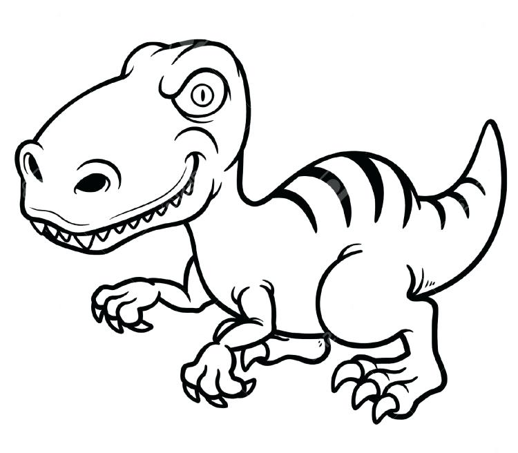750x656 Dinosaur Drawings For Coloring Dinosaur Coloring Page For Kids