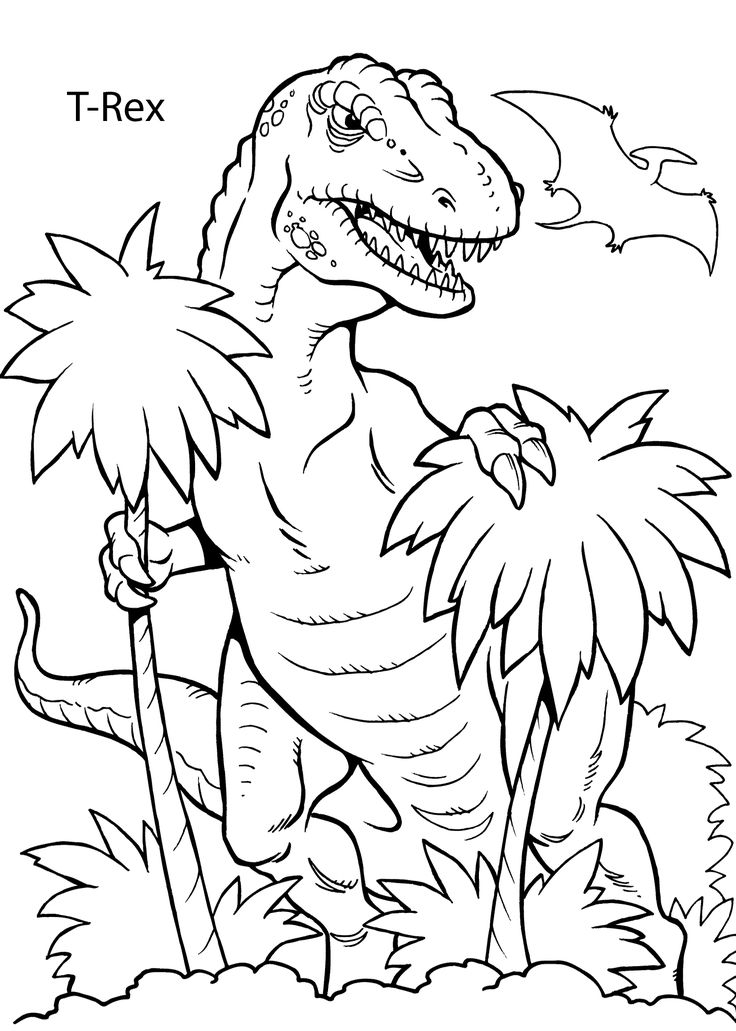736x1031 Amazing Dinosaur Coloring Pages 29 On Line Drawings With Dinosaur