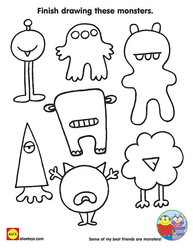 Kids Drawing Activities at GetDrawings.com | Free for personal use ...