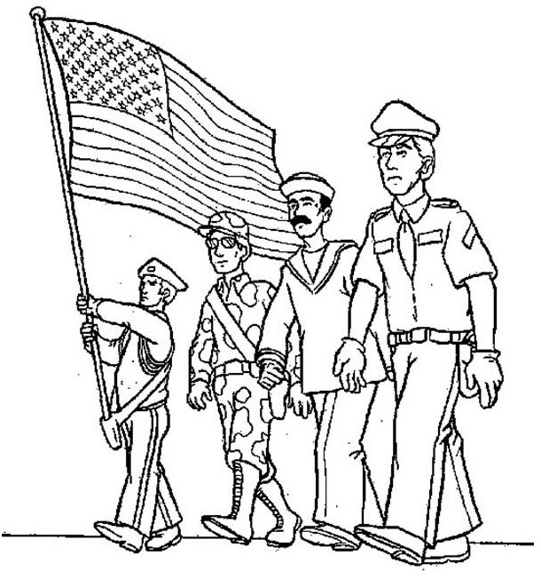 610x652 Flag Day Activities Crafts, Clipart, Sketch, Drawing, Printable