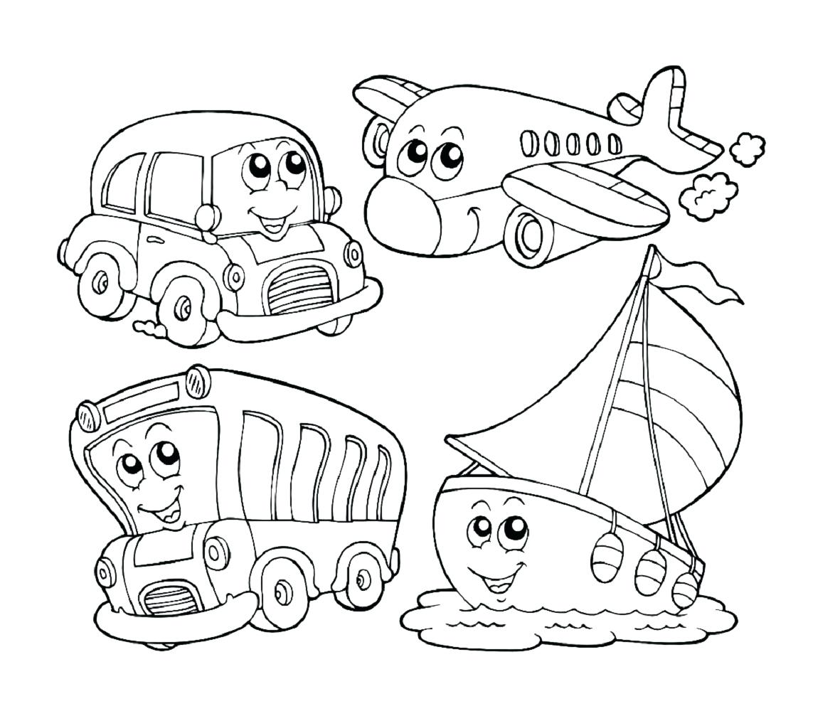 1181x1000 Coloring Activity Coloring Pages Kids Transportation Kiddo