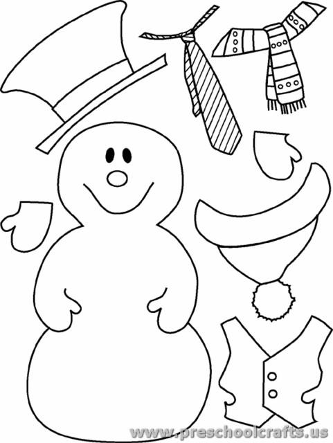 481x640 Snowman Cut Paste Activity For Kids