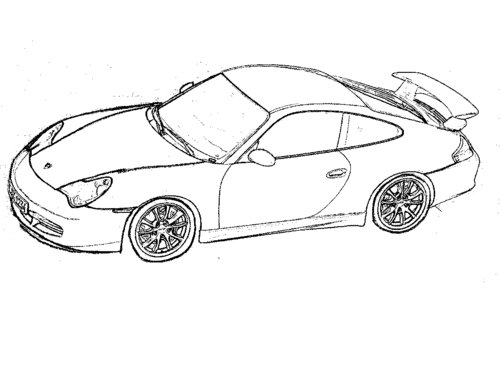 500x386 Cartoon Cars Coloring Pages For Kids Gtgt Disney Coloring Pages