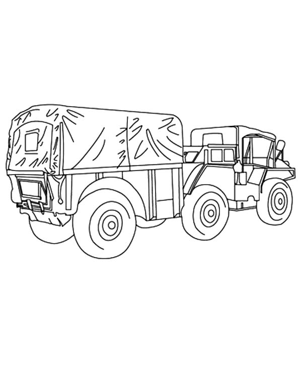 600x775 Army Car Coloring Pages For Kids Bulk Color