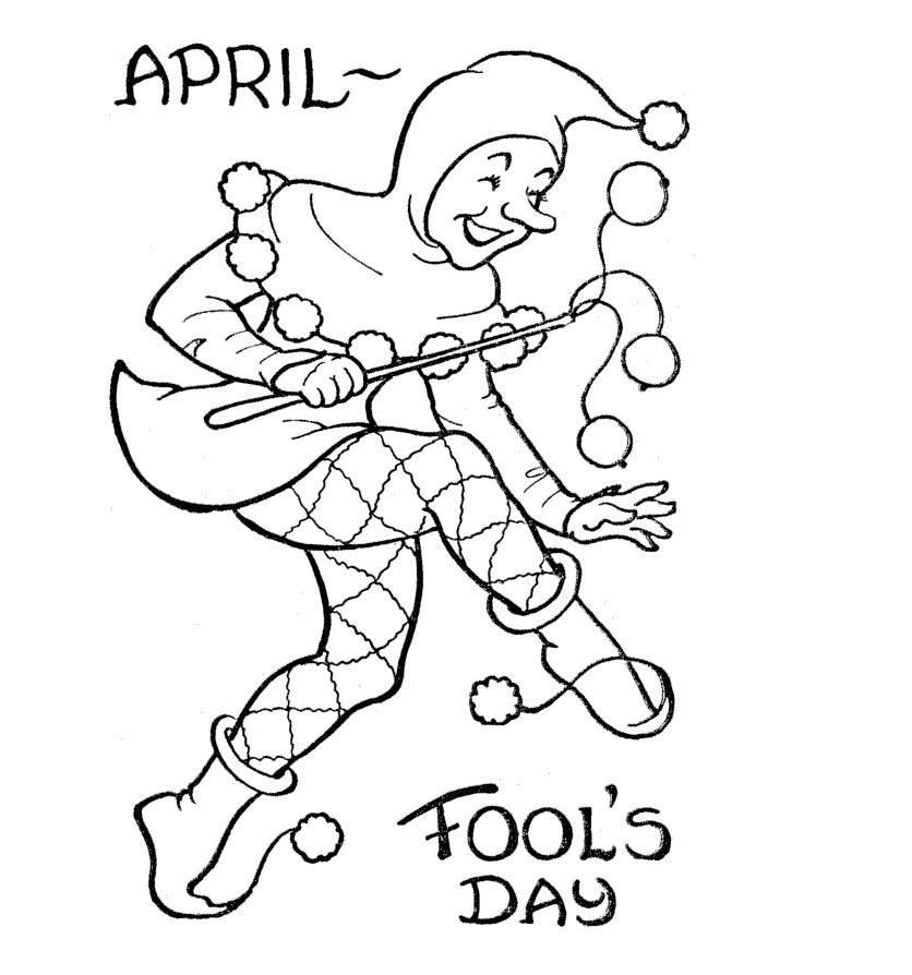 836x894 April Fools Day 2017 Clipart, Sketch Amp Drawing Activities Ideas