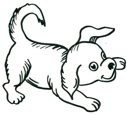 435x395 Do You Want To Learn How To Draw Another Cartoon Style Dog