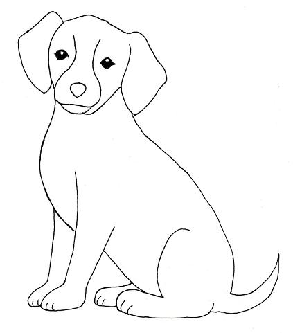 423x481 How To Create A Dog Drawing Step By Step Art For Children