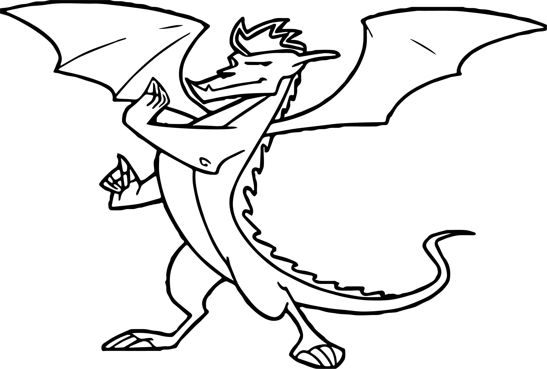 Kids Drawing Dragon