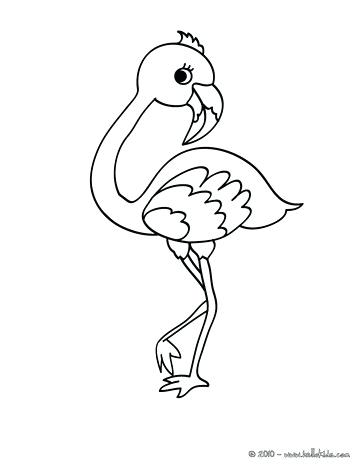 363x470 Epic Flamingo Coloring Pages Printable Crayola Photo Drawing