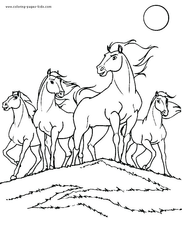 590x733 Baby Horse Coloring Pages Carousel Horse Coloring Page Carousel