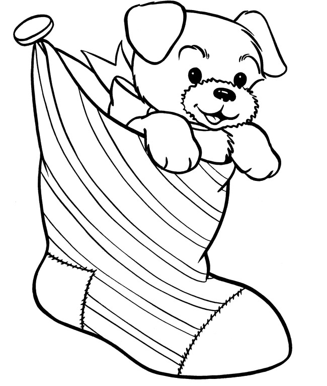 printable dog coloring pages for kids 650x766 dog template